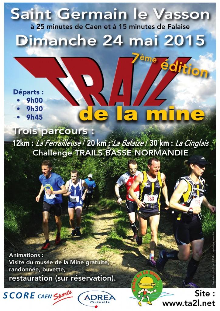 affiche Trail 2015